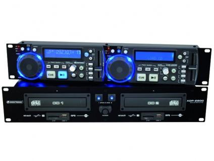 OMNITRONIC XDP-2800 Dual-CD-/MP3-Player