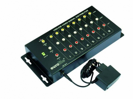 EUROLITE VSD-108 Videoverteiler 1in8
