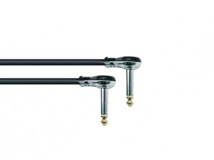 SOMMER CABLE Klinkenkabel 6, 3 mono 2x 90° 0, 3m br Hicon