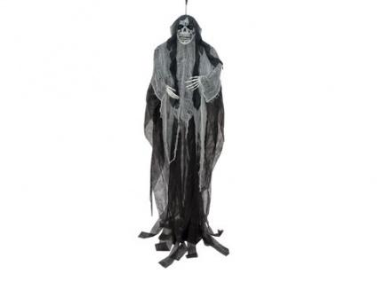 EUROPALMS Halloween Figur Alte Frau, selbstleuchtend, 210cm
