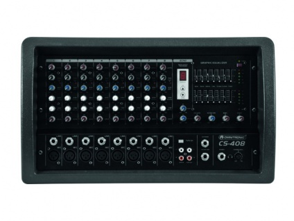 OMNITRONIC CS-408 Power-Mixer