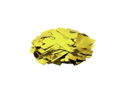 TCM FX Metallic Konfetti rechteckig 55x18mm, gold, 1kg