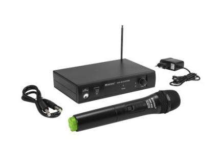 OMNITRONIC VHF-101 Funkmikrofon-System 207.55MHz
