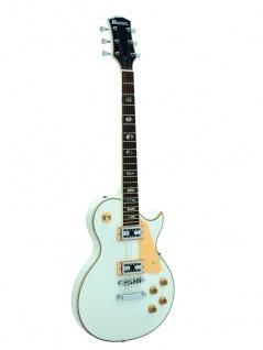 DIMAVERY LP-700 E-Gitarre, weiß