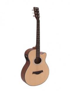 DIMAVERY AW-400 Westerngitarre, natur