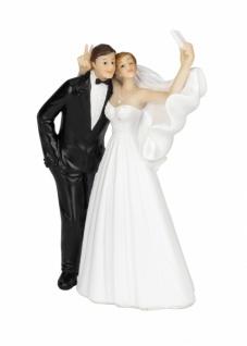 Brautpaar, Kunststoff, 6, 4 x 3, 8 x 11cm