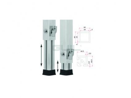 GUIL PTA-440/80-140 Teleskopfuß