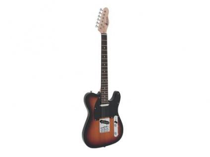 DIMAVERY TL-401 E-Gitarre, sunburst