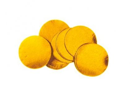 TCM FX Metallic Konfetti rund 55x55mm, gold, 1kg