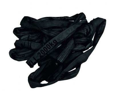 SHZ Rundschlinge 0, 5m bis 2000KG schwarz