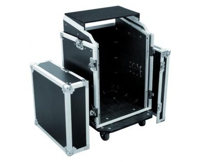 ROADINGER Spezial-Kombi-Case LS5 Laptop-Rack, 14HE