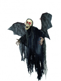 EUROPALMS Halloween Figur Bat Ghost 85cm