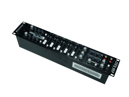 OMNITRONIC EM-550B Entertainment-Mixer