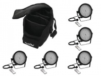 EUROLITE Set 5x LED SLS-184 + Case