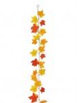 EUROPALMS Herbstgirlande, gelb, 180cm