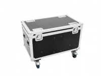 ROADINGER Flightcase 4x Audience Blinder 2xCOB