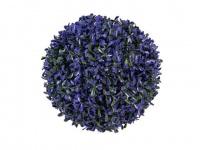 EUROPALMS Graskugel, violett, 22cm