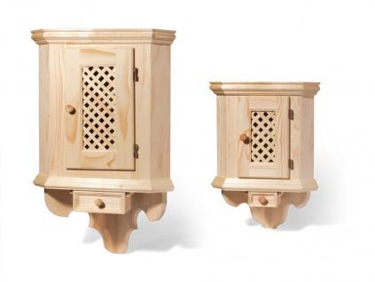 Holzwaren Wasmer / Eckschrank - Vorschau 1