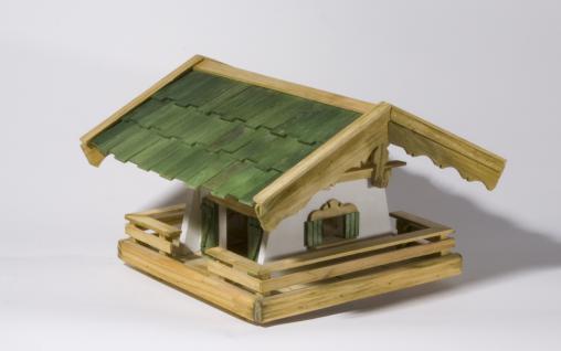"""Holzwaren Wasmer / Vogelfutterhaus """"Bayerisch"""" - Vorschau 4"""