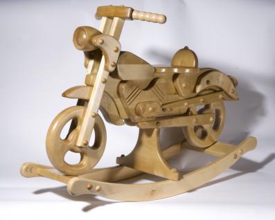 Holzwaren Wasmer Schaukelmotorrad - Vorschau 2