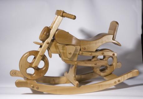 Holzwaren Wasmer Schaukelmotorrad - Vorschau 3