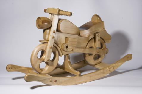 Holzwaren Wasmer Schaukelmotorrad - Vorschau 4