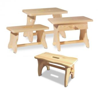 Holzwaren Wasmer / Fußschemel
