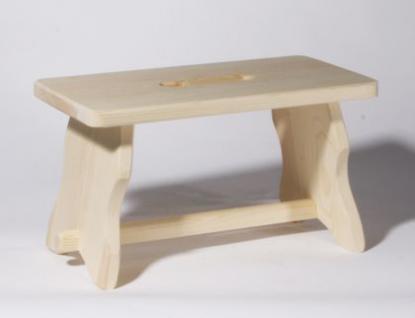 Holzwaren Wasmer / Fußschemel - Vorschau 3