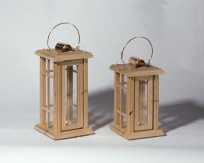 Holzwaren Wasmer / Holz Laterne - Vorschau 3