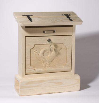 holzwaren wasmer holzbriefkasten alztaler kaufen bei. Black Bedroom Furniture Sets. Home Design Ideas