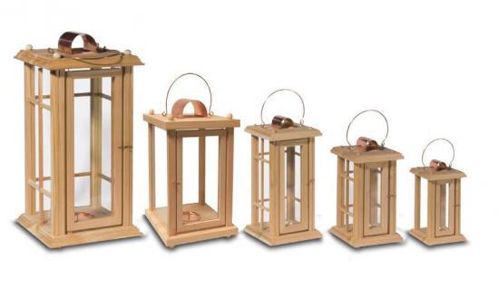 Holzwaren Wasmer / Holz Laterne - Vorschau 2