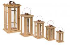 Holzwaren Wasmer / Holz Laterne
