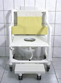 XXL 250 kg Toilettenstuhl Toilettensitzerhöhung Profi-Duschstuh - Vorschau 1