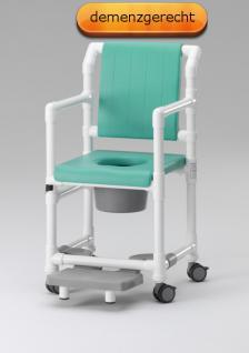 Profi-Dusch-Toilettenstuhl Toilettensitzerhöhung Komfortklasse Sicherheitsgurt