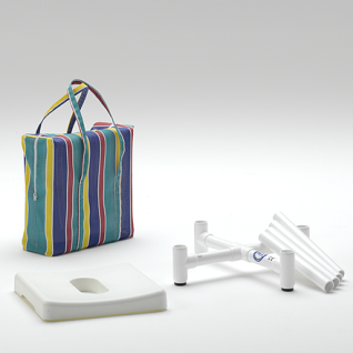 Duschhocker Pflege-Serie zerlegbar 150 kg - Vorschau 3