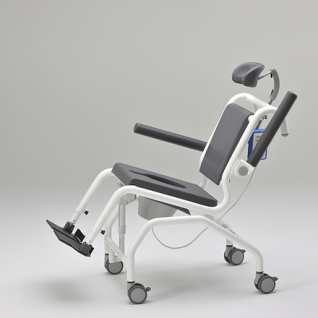 Elektrischer Duschtoilettenstuhl kippbar Parkinson Profi-Duschstuhl - Vorschau 1