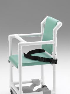 Profi-Dusch-Toilettenstuhl Toilettensitzerhöhung Komfortklasse Sicherheitsgurt - Vorschau 3
