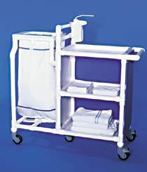 Stationswagen Wäschesammler MRSA Hygiene RCN