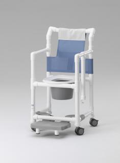 Komfort-Toilettenstuhl 150 kg Sicherheitsbügel standsicher Profi