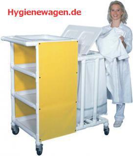 MRSA Stationswagen Pflegewagen Wäschesammler Hygienezubehör RCN - Vorschau 1