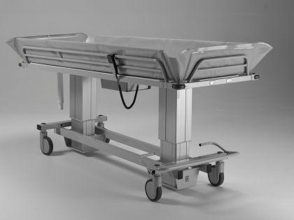 XL Duschwagen 270 kg kippbar elektrisch Duschliege höhenverstellbar - Vorschau 2