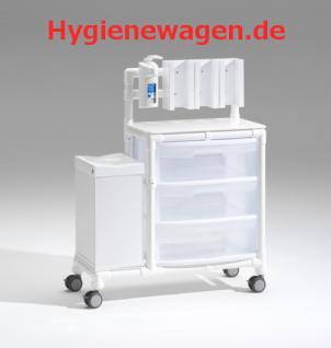 Stationswagen Pflegewagen platzsparend Hygiene RCN - Vorschau 3