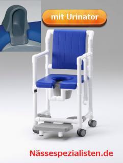 Demenzstuhl mit körperwarmer Polsterung Toilettenstuhl Toilettensitzerhöhung Profi-Duschstuhl - Vorschau 4