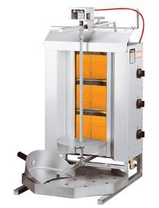 GAM Gas-Gyrosgrillgerät GD3-S - Vorschau