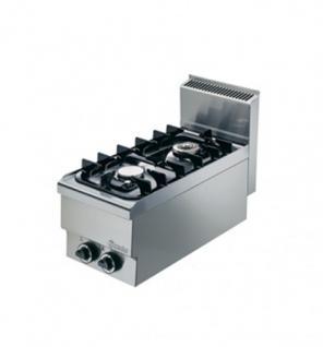 Bartscher Gas-Kocher 400x650x295