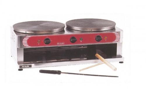 GGG Crêpes-Eisen elektro mit 2 Backflächen