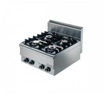 Bartscher Gas-Kocher 600x650x295