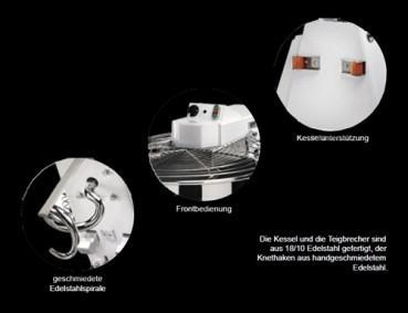 GAM Spiralteigknetmaschine SX75 - Vorschau 2