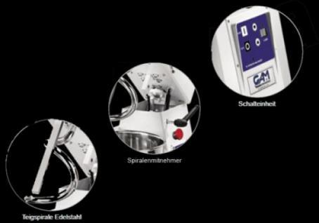 GAM Spiralteigknetmaschine TSV16-D - Vorschau 2