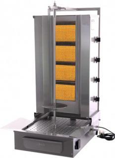 GAM Gas-Gyrosgrillgerät GD4F/S